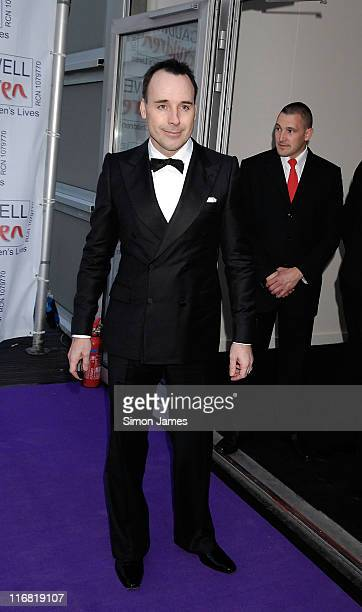 David Furnish arrives for the Caudwell Children 'The Legends Ball' at Battersea Evolution on May 8 2008 in London England