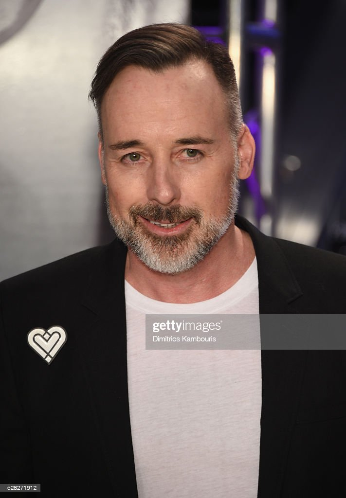 <a gi-track='captionPersonalityLinkClicked' href=/galleries/search?phrase=David+Furnish&family=editorial&specificpeople=220203 ng-click='$event.stopPropagation()'>David Furnish</a> attends Love Bravery by Lady Gaga and Elton John launch at Macy's Herald Square on May 4, 2016 in New York City.