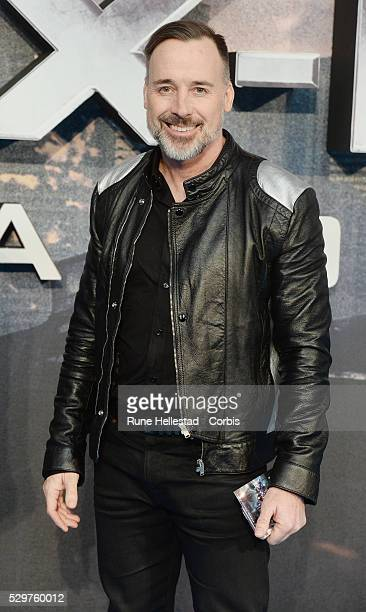 David Furnish attends the premiere of X Men Apocalypse at BFI IMAX on May 9 2016 in London England