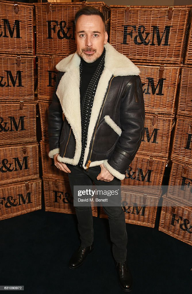 David Furnish celebrates the launch of London Fashion Week Men's with Esquire and Fortnum & Mason on January 6, 2017 in London, England.