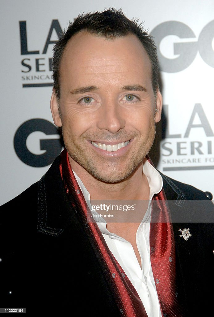 David Furnish during GQ Men of the Year Awards - Inside Arrivals at Royal Opera House in London, Great Britain.