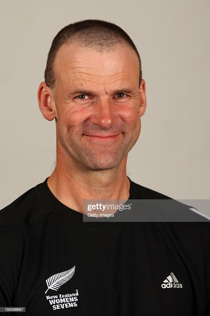 David Galbraith poses for a headshot during the New Zealand Womens Rugby Sevens headshot session at Pulman Lodge on November 3, 2012 in Auckland, New Zealand.
