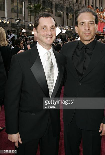 David Gale of MTV and Van Toffler during The 77th Annual Academy Awards Executive Arrivals at Kodak Theatre in Hollywood California United States