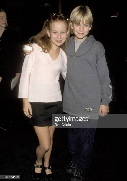 David Gallagher and Date Ashley during Screening of 'The Prince of Egypt' December 16 1998 at UCLA Royce Hall in Westwood California United States