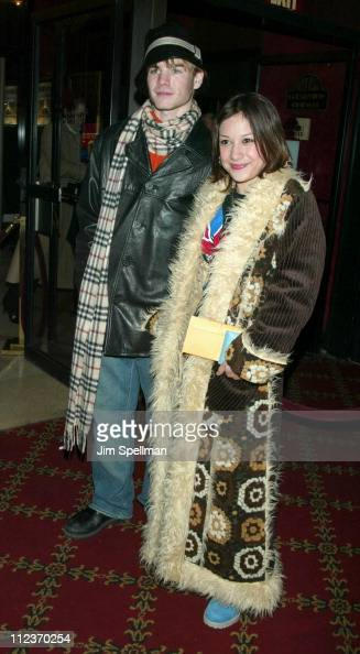 David Gallagher and Lalaine during World Premiere of 'Cradle 2 the Grave' at The Ziegfeld Theatre in New York City New York United States