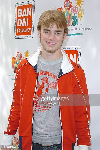 David Gallagher during 11th Annual Kids for Kids Celebrity Carnival to Benefit the Elizabeth Glaser Pediatric AIDS Foundation Arrivals at Industria...