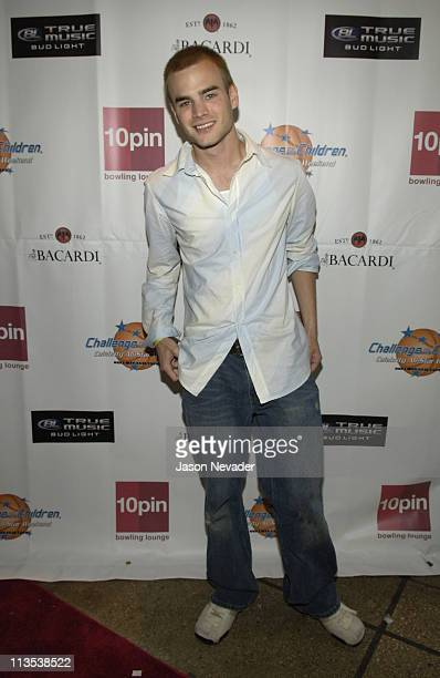 David Gallagher during *NSYNC's Challenge for the Children VII Celebrity Bowling Arrivals at 10pin in Chicago Illinois United States