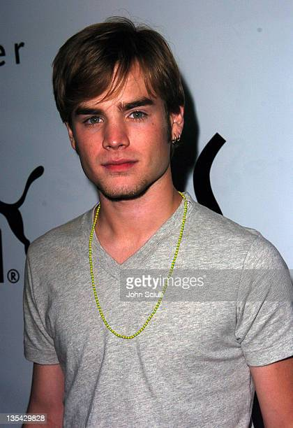 David Gallagher during PUMA Bodywear Launch Party Red Carpet at Shelter Supper Club in Los Angeles California United States