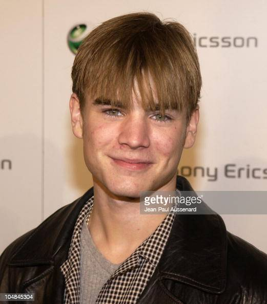 David Gallagher during Sony Ericsson's Hollywood Premiere Party 2003 at The Palace in Hollywood California United States