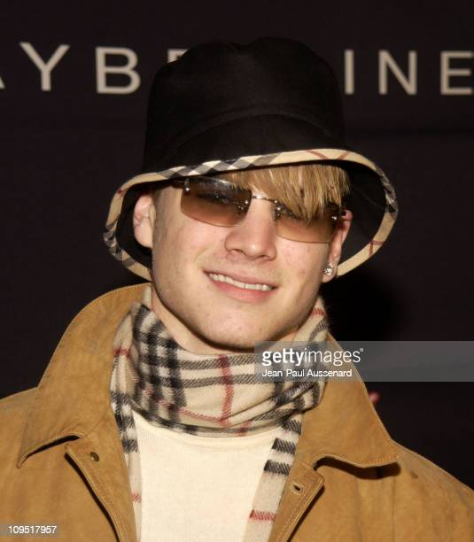 David Gallagher during Teen People and Universal Records Honor Nelly as the 2002 Artist of the Year Arrivals at Ivar in Hollywood California United...
