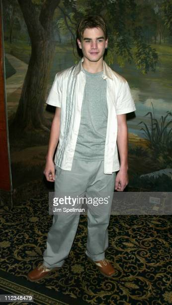 David Gallagher during The WB Introduces Its 20022003 Schedule at New York Sheraton in New York City New York United States