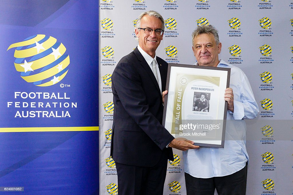 2016 Football Federation Australia Hall of Fame Induction Ceremony