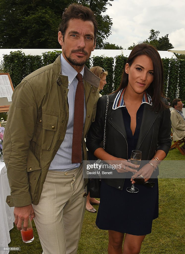 <a gi-track='captionPersonalityLinkClicked' href=/galleries/search?phrase=David+Gandy&family=editorial&specificpeople=4377663 ng-click='$event.stopPropagation()'>David Gandy</a> and guest attend The Cartier Style et Luxe at the Goodwood Festival of Speed at Goodwood on June 26, 2016 in Chichester, England.