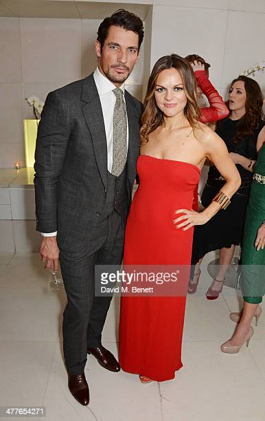 David Gandy and Rodial Founder Maria Hatzistefanis attend the 5th annual Rodial Beautiful Awards to celebrate women of style beauty and elegance at...