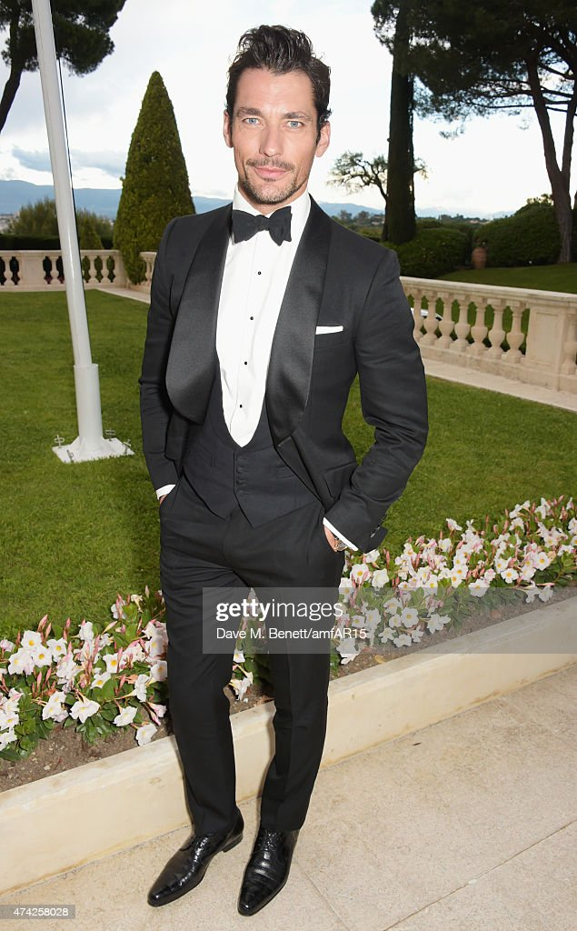 David Gandy arrives at amfAR's 22nd Cinema Against AIDS Gala, Presented By Bold Films And Harry Winston at Hotel du Cap-Eden-Roc on May 21, 2015 in Cap d'Antibes, France.