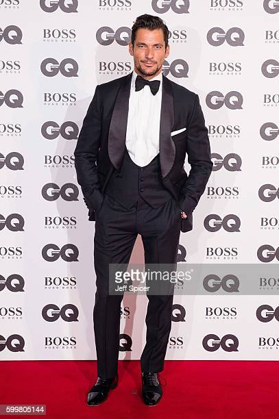 David Gandy arrives for GQ Men Of The Year Awards 2016 at Tate Modern on September 6 2016 in London England