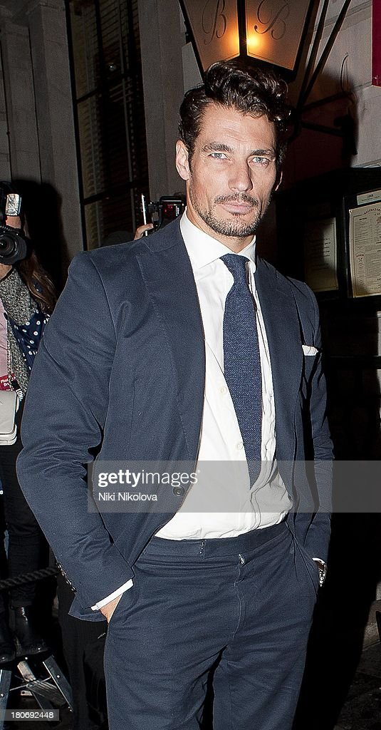 <a gi-track='captionPersonalityLinkClicked' href=/galleries/search?phrase=David+Gandy&family=editorial&specificpeople=4377663 ng-click='$event.stopPropagation()'>David Gandy</a> attends a private dinner hosted by British Vogue celebrating London Fashion Week SS14 on September 15, 2013 in London, England.