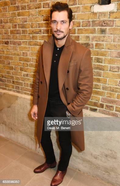 David Gandy attends as Dylan Jones and Marco Bizzarri host a cocktail party to launch new film series 'The Performers' at The Serpentine Gallery on...