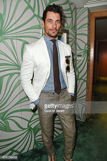 David Gandy attends the Chopard Annabel's in Cannes party at the Martinez Hotel on May 20 2015 in Cannes France