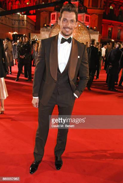 David Gandy attends The Fashion Awards 2017 in partnership with Swarovski at Royal Albert Hall on December 4 2017 in London England