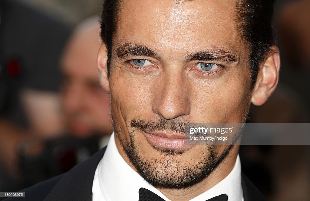 David Gandy attends the GQ Men of the Year awards at The Royal Opera House on September 3, 2013 in London, England.