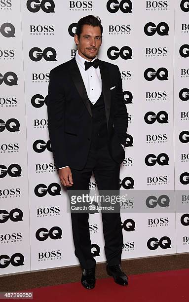 David Gandy attends the GQ Men Of The Year Awards at The Royal Opera House on September 8 2015 in London England
