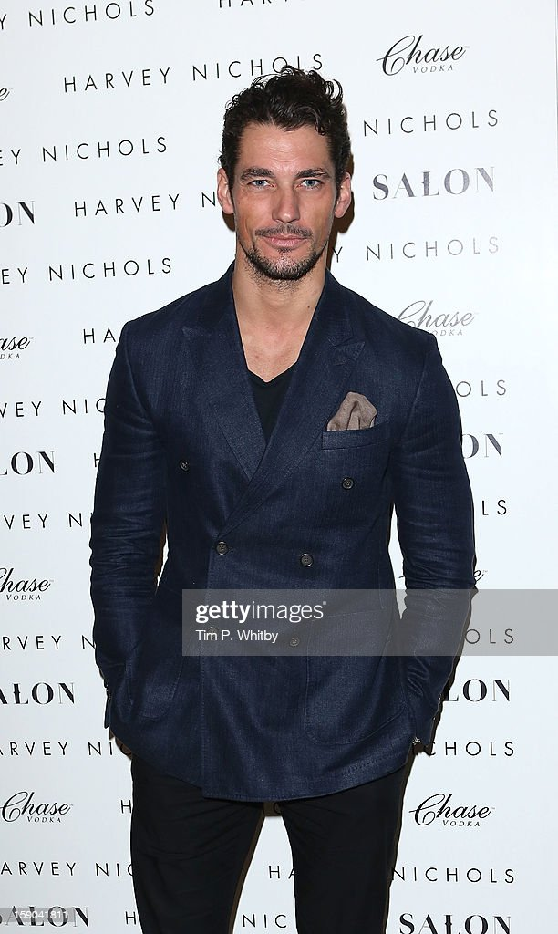 David Gandy attends the launch of 1205 Paula Gerbase Hosted By Harvey Nichols ahead of the London Collections: MEN AW13 at Harvey Nichols on January 6, 2013 in London, England.