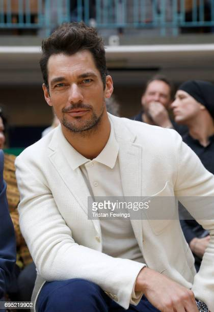 David Gandy attends the Vivienne Westwood show during London Fashion Week Men's June 2017 collections on June 12 2017 in London England