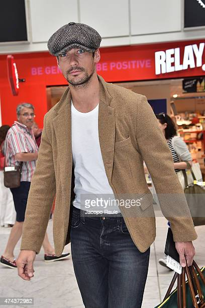 David Gandy is seen at Nice Airport during the 68th annual Cannes Film Festival on May 22 2015 in Cannes France