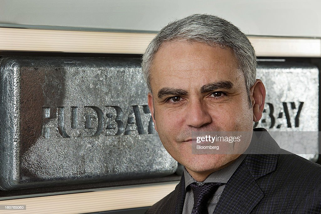 "David Garofalo, chief executive officer of HudBay Minerals Inc., stands for a photograph at the company's office in Toronto, Ontario, Canada, on Tuesday, Feb. 5, 2013. HudBay Minerals may look at pre-feasibility, ""greenfield"" level projects for acquisition, Garofalo said during a mining conference last week. Photographer: Norm Betts/Bloomberg via Getty Images"