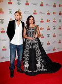 David Garrett and Anna Netrebko attend the ECHO Klassik 2014 on October 26 2014 in Munich Germany