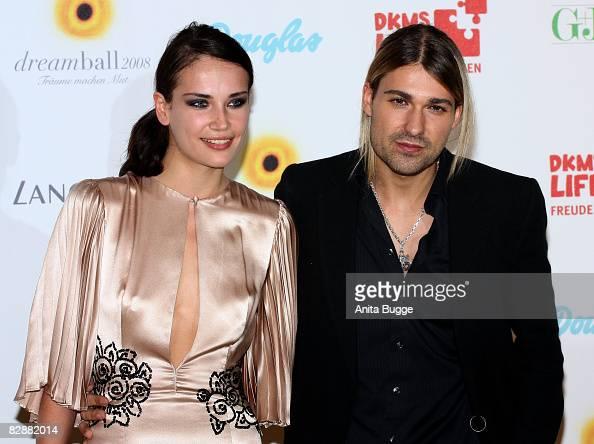 David Garrett and girlfriend Tatjana Gellert attend the Dreamball2008 charity gala in the MartinGropius Building on September 18 2008 in Berlin...