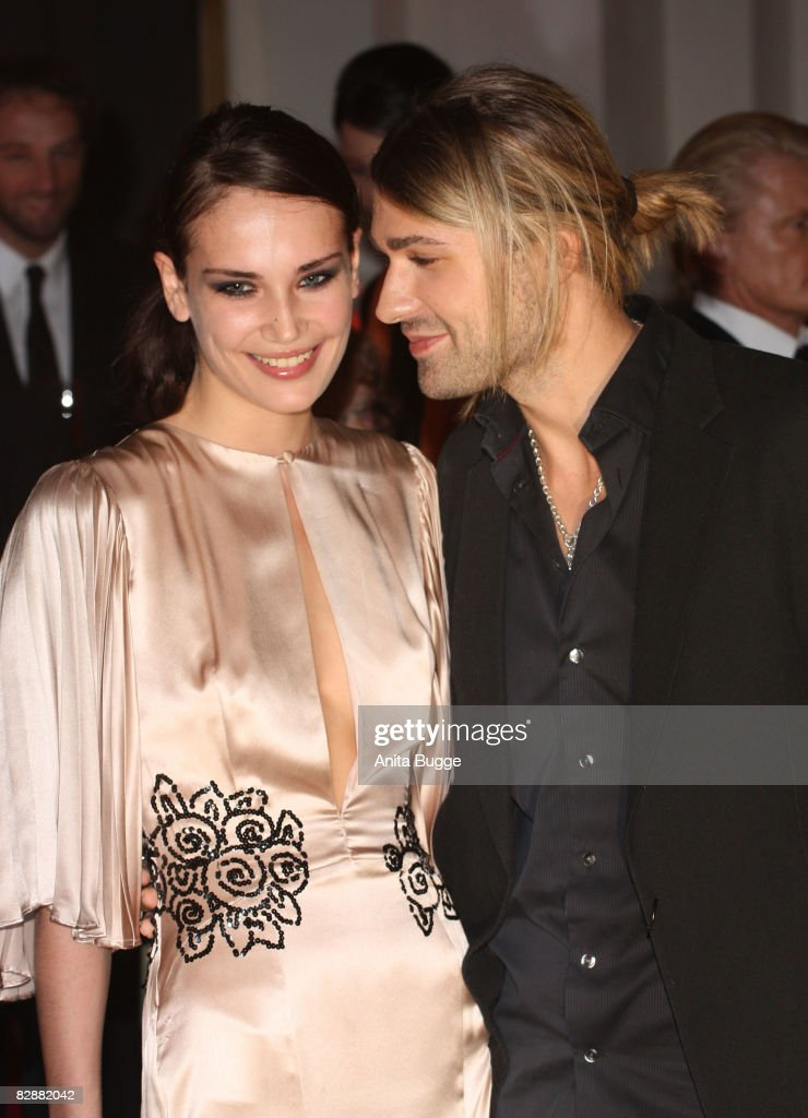 David Garrett and girlfriend Tatjana Gellert attend the Dreamball2008 charity gala in the Martin-Gropius Building on September 18, 2008 in Berlin, Germany.