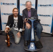 David Garrett and Itzhak Perlman are seen as part of SiriusXM's 'Artist Confidential' series on SiriusXM Pops with special guest Itzhak Perlman on...