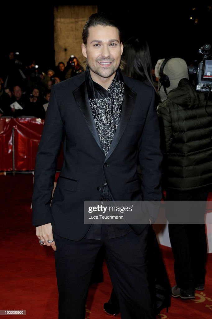 David Garrett attends the 48th Golden Camera Awards at the Axel Springer Haus on February 2, 2013 in Berlin, Germany.