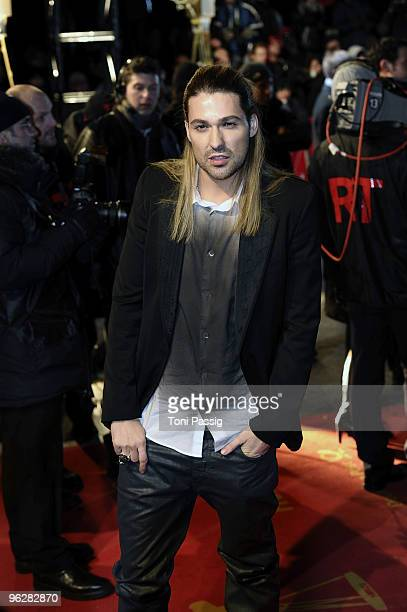 David Garrett attends the Goldene Kamera 2010 Award at the Axel Springer Verlag on January 30 2010 in Berlin Germany