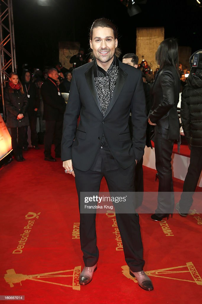 David Garrett attends the 'Goldene Kamera 2013' on February 2, 2013 in Berlin, Germany.