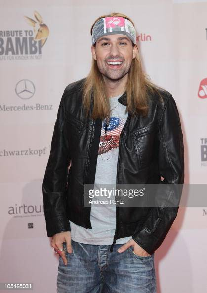 David Garrett attends the 'Tribute to Bambi' Charity Gala at Station on October 14 2010 in Berlin Germany
