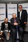 David Garrett Itzhak Perlman and David Srebnik visit the SiriusXM Studio on June 6 2012 in New York City