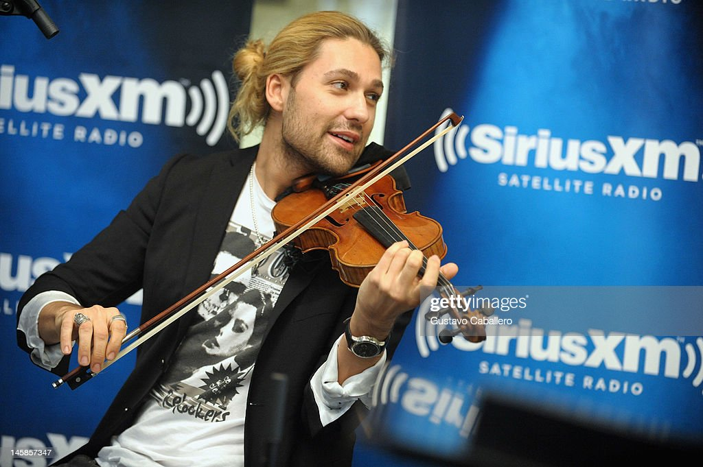 <a gi-track='captionPersonalityLinkClicked' href=/galleries/search?phrase=David+Garrett&family=editorial&specificpeople=4603343 ng-click='$event.stopPropagation()'>David Garrett</a> performs as part of SiriusXM's 'Artist Confidential' series on SiriusXM Pops on June 6, 2012 in New York City.
