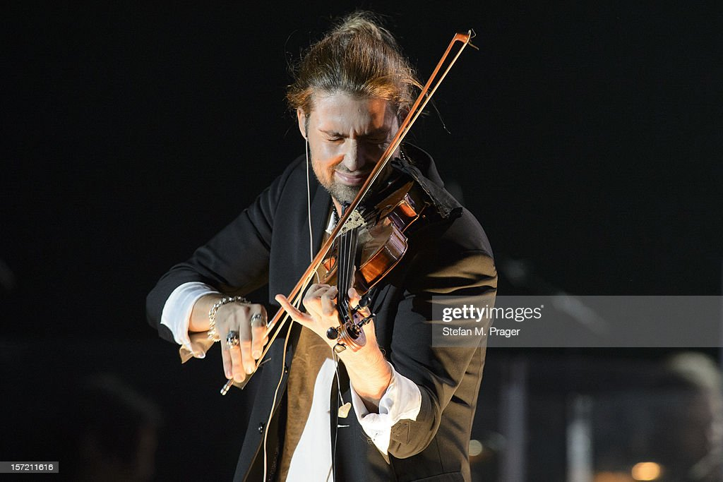 David Garrett performs at Olympiahalle on November 21, 2012 in Munich, Germany.