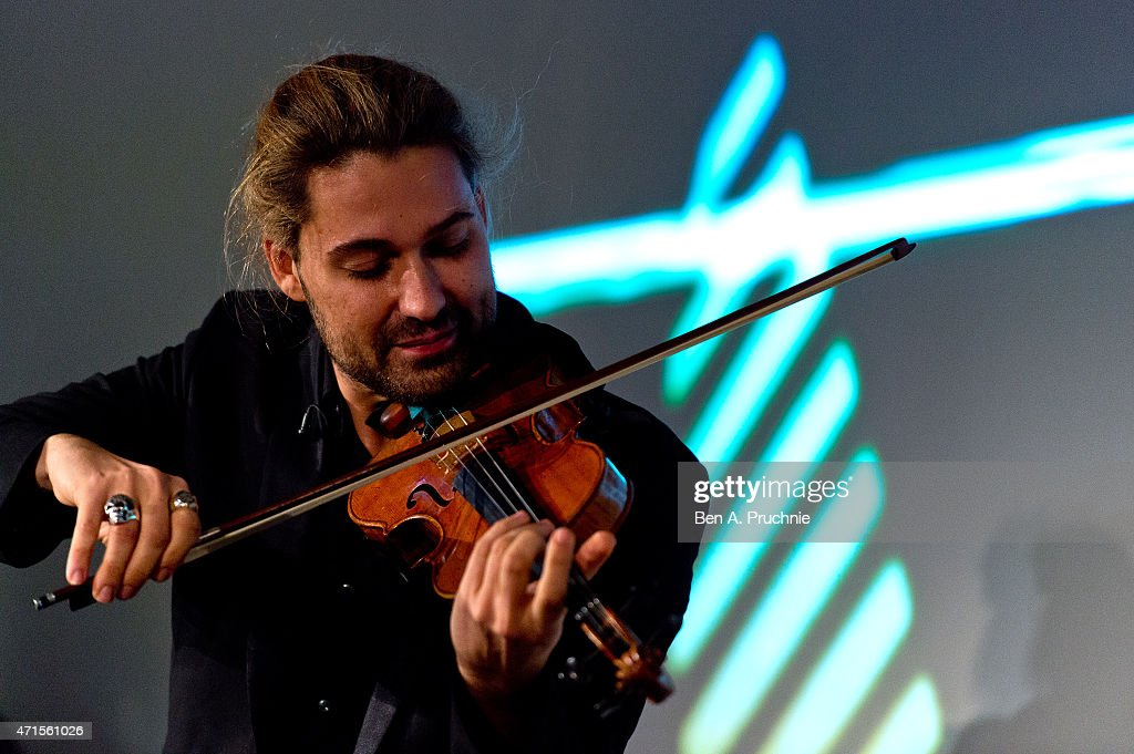 David Garrett performs at the IPO Summer Gala hosted by the British ...