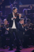 David Garrett performs during the 18th Annual Jose Carreras Gala on December 13 2012 in Leipzig Germany