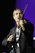David Garrett performs on stage at the LanxessArena on October 31 2010 in Cologne Germany
