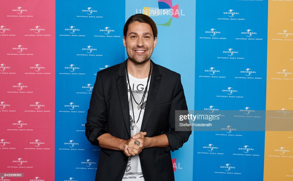 David Garrett poses for a photo during Universal Inside 2017 organized by Universal Music Group at Mercedes-Benz Arena on September 6, 2017 in Berlin, Germany.