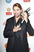 David Garrett receives an award at the Echo Klassik 2012 award ceremony at Konzerthaus Berlin on October 14 2012 in Berlin Germany