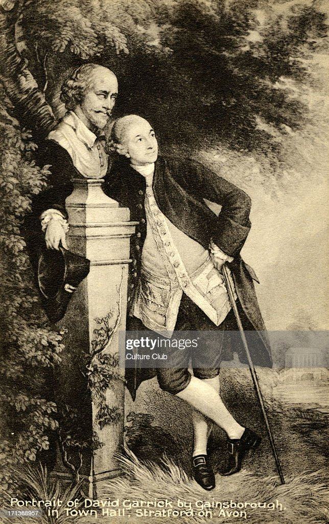 a biography of david garrick the english actor and playwright English: david garrick was the 18th century's most prominent actor and his era's leading interpreter of works by william plays by david garrick.