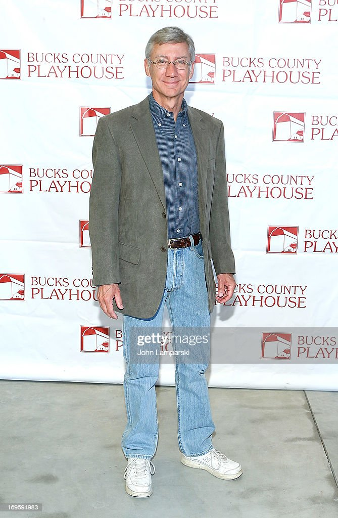 David Garrison attends 2013 Bucks County Playhouse Summer Season Press Preview at Signature Theater on May 28, 2013 in New York City.