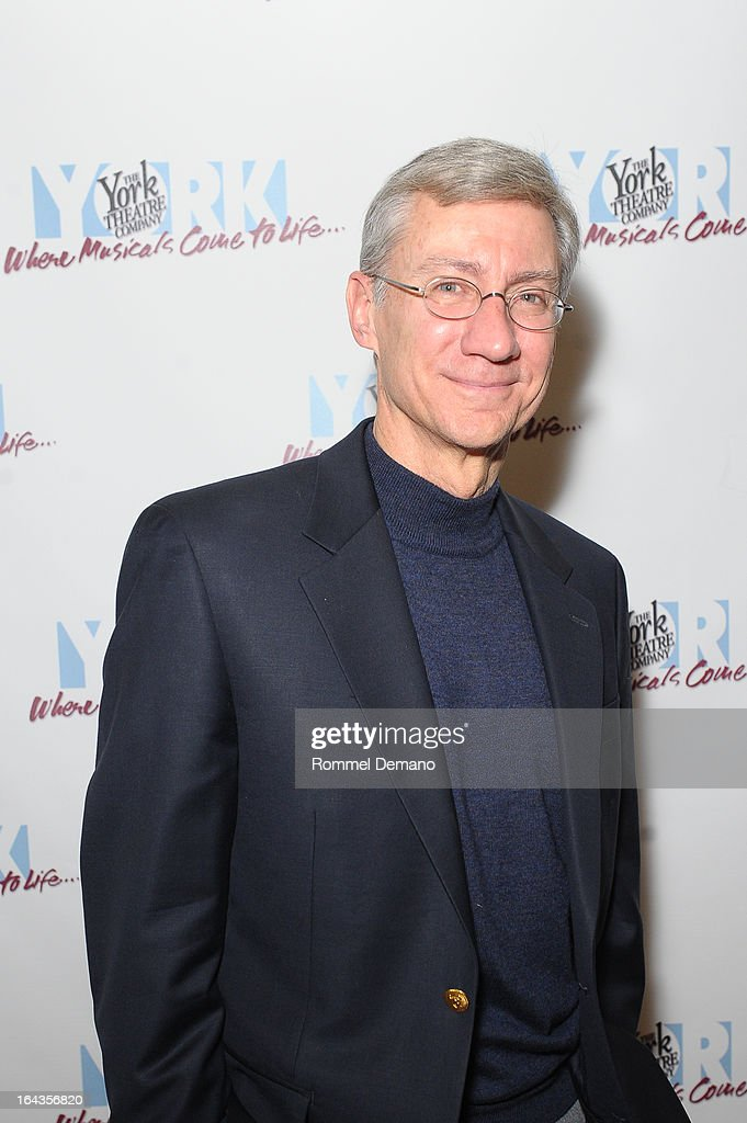 David Garrison attends the off-Broadway opening night of 'Silk Stockings' at The York Theatre at Saint Peter's on March 22, 2013 in New York City.