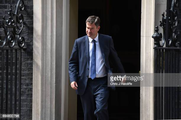 David Gauke who has been made Work and Pensions Secretary leaves 10 Downing Street on June 11 2017 in London England Prime Minister Theresa May...